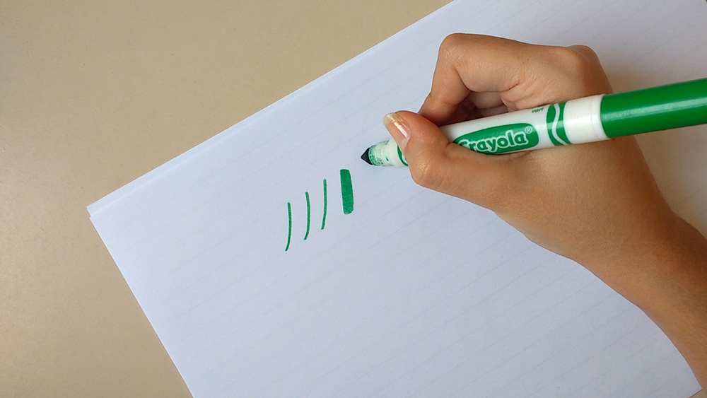 How To Create Calligraphy With Crayola Markers Rayane